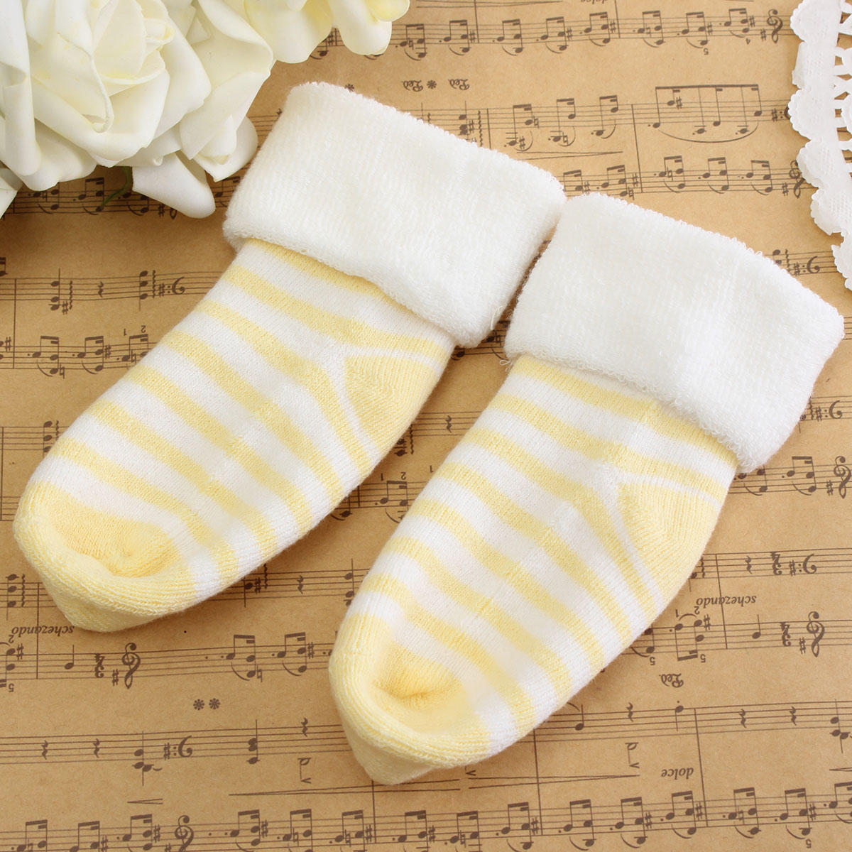 Baby Kids Child Lovely Warm Winter Autumn Cotton Sockes Wearing Accessories