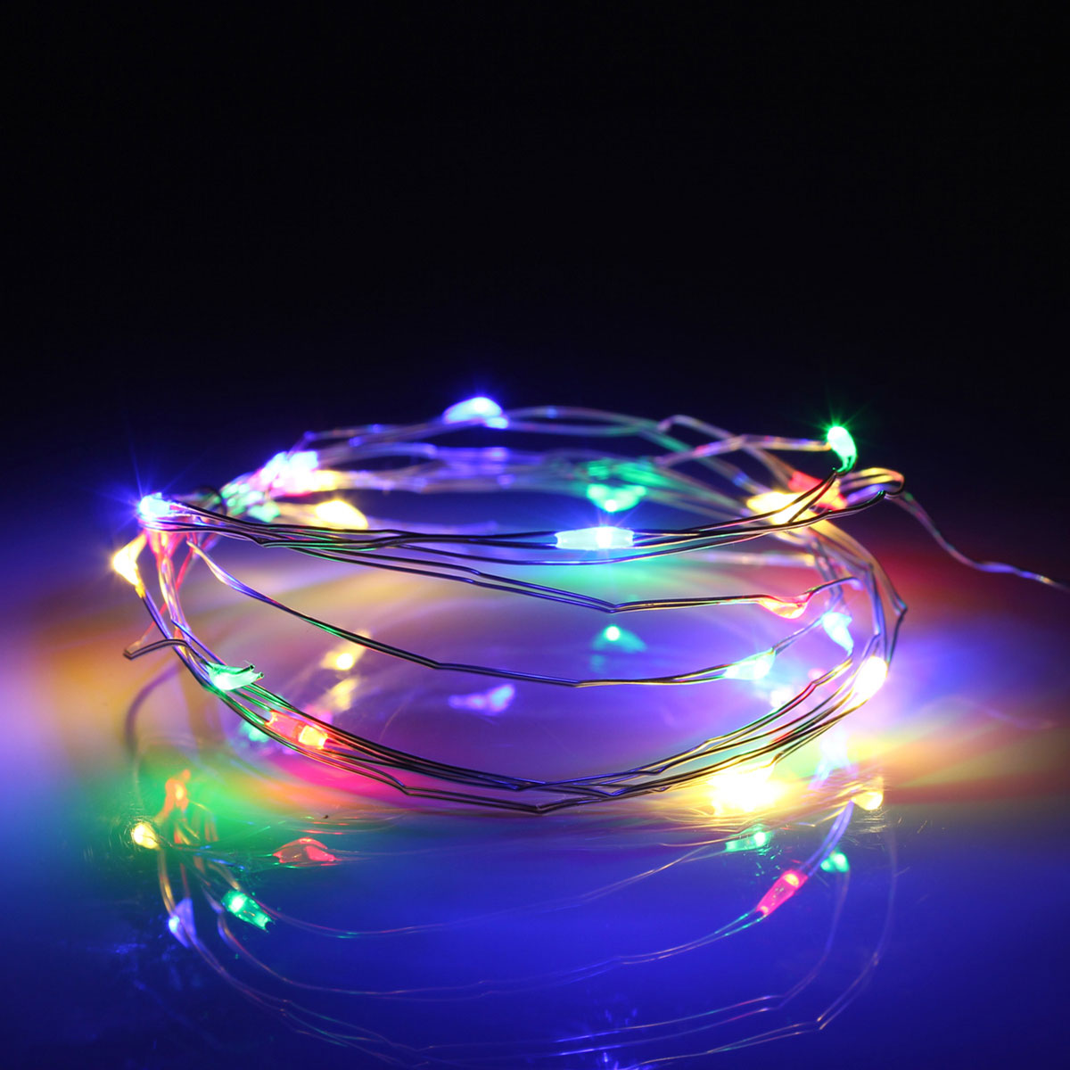 2M 20 LED USB Silver Wire Fairy String Holiday Light Party Home Decor Waterproof