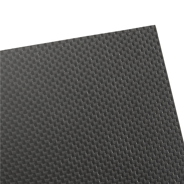 Suleve™ CF20304 3K 200×300×4mm Plain Weave Carbon Fiber Plate Panel Sheet Aircraft Model Building