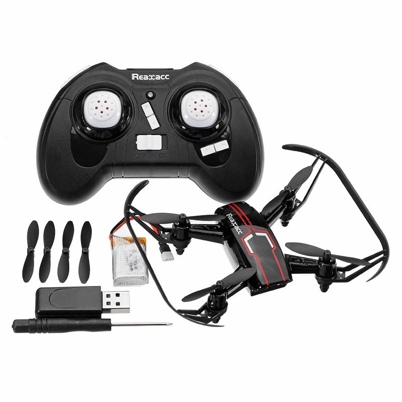 Realacc R10 Mini Headless Mode Pocket Drone 2.4G 4CH 6 Axis RC Quadcopter RTF