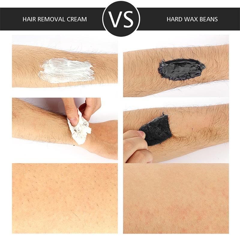 500g/Bottle Hair Removal Wax Full Body Epilator Beans