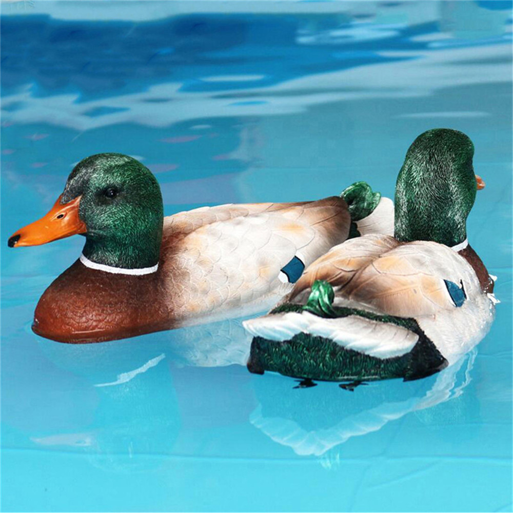 Flytec V201 2.4G 4CH Duck RC Boat Double Motor Hunting Motion Decoy Swimming Pool Floating Toys - Photo: 10