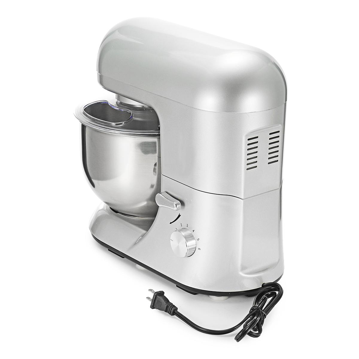 1200W Stand Mixer Blender Kitchen Machine Kneading Food Processor 5L Bowl Planetar