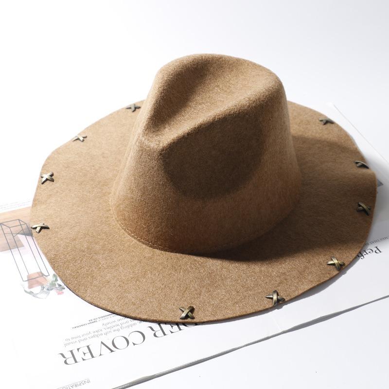 Men Women Vintage Panama Style Jazz Hat
