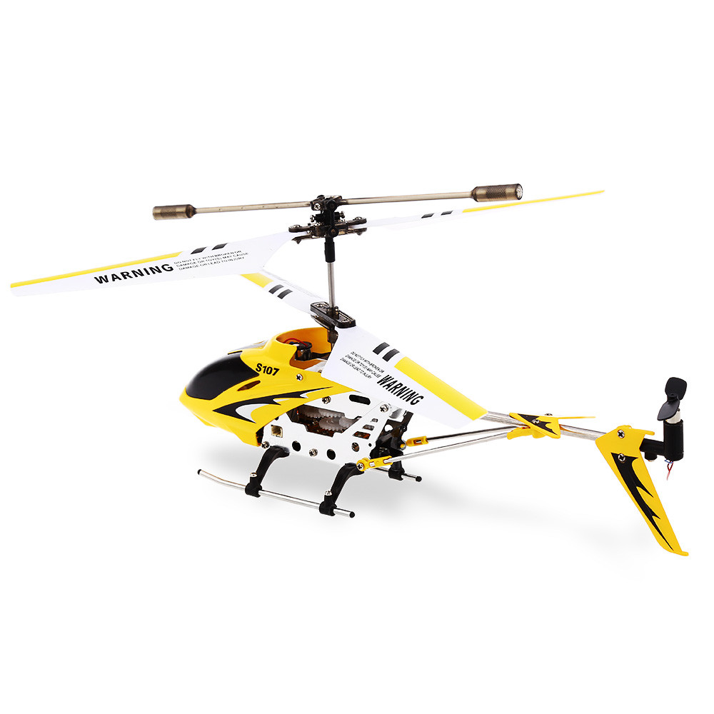 SYMA S107G 3CH Infrared Mini RC Helicopter With Gyro RTF - Photo: 6