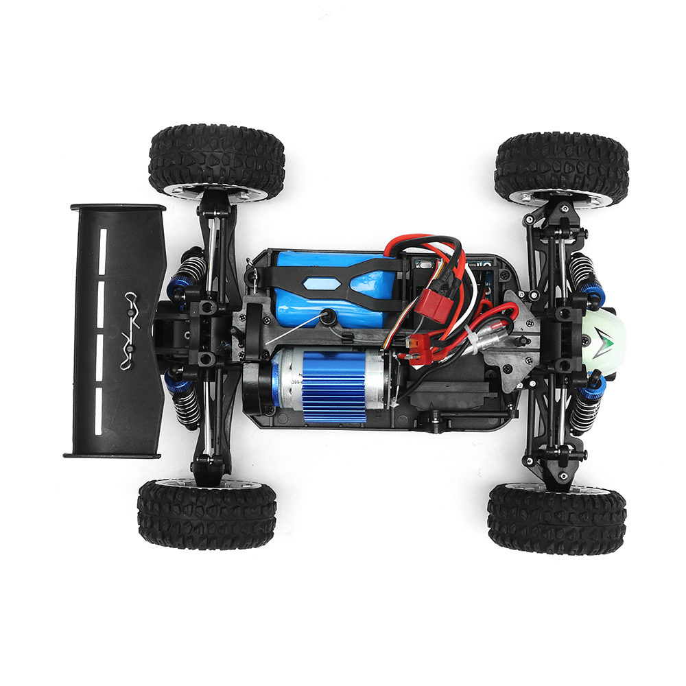 MZ GS1004 1/18 2.4G 4WD 390 Brushed Rc Car 55km/h High Speed Drift Buggy Off-road Truck RTR Toy - Photo: 7