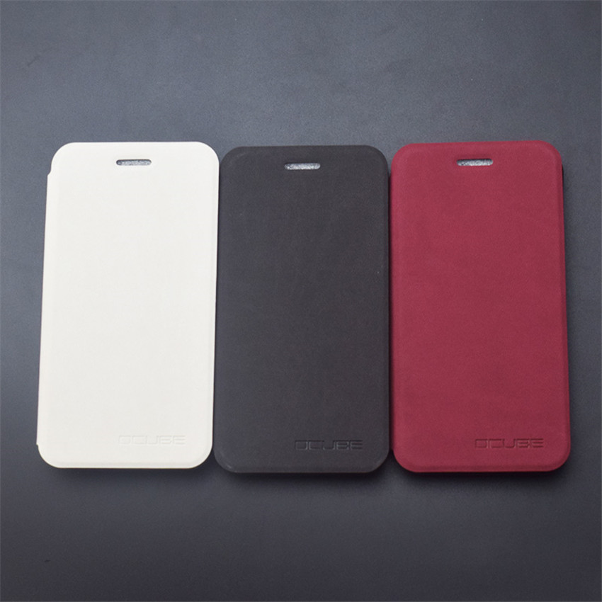 OCUBE PU Flip Stand Leather Protective Case Cover For UMI LONDON