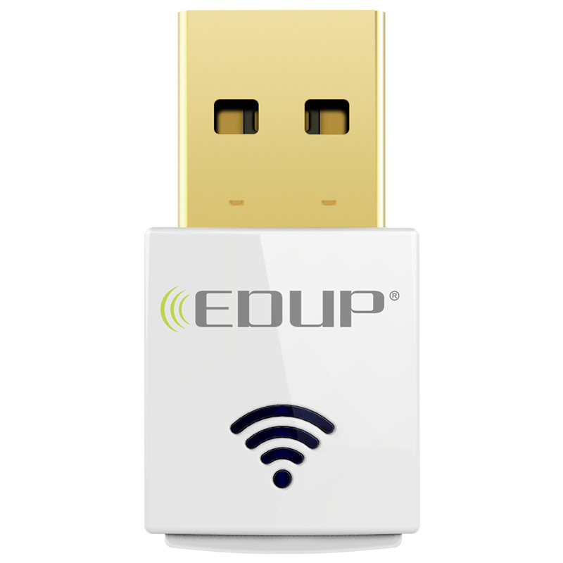 Image of 11AC Dual-Band 2.4G / 5G 600Mbps USB Wifi Dongle Drahtlose Netzwerk-Adapter EP-AC1619 EDUP