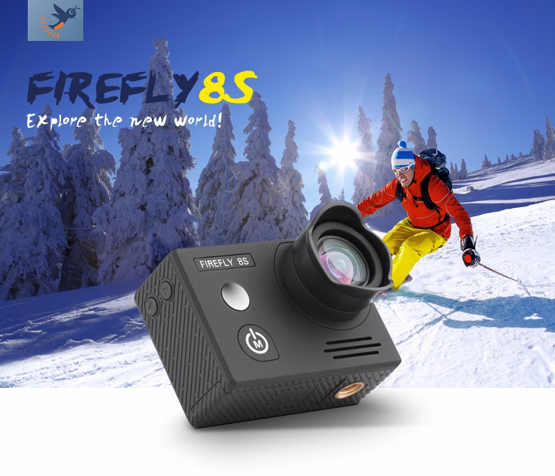 Hawkeye Firefly 8S 4K 170 Degree Super-View bluetooth WiFi Camera HD FPV Sport Action Cam