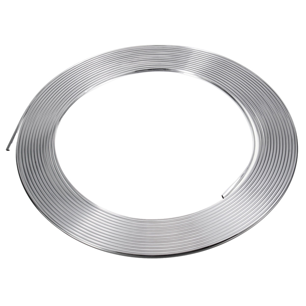 13m U Shape Silver Chrome Car Styling Moulding Strip Car Body Air Vent Adhesive Trim