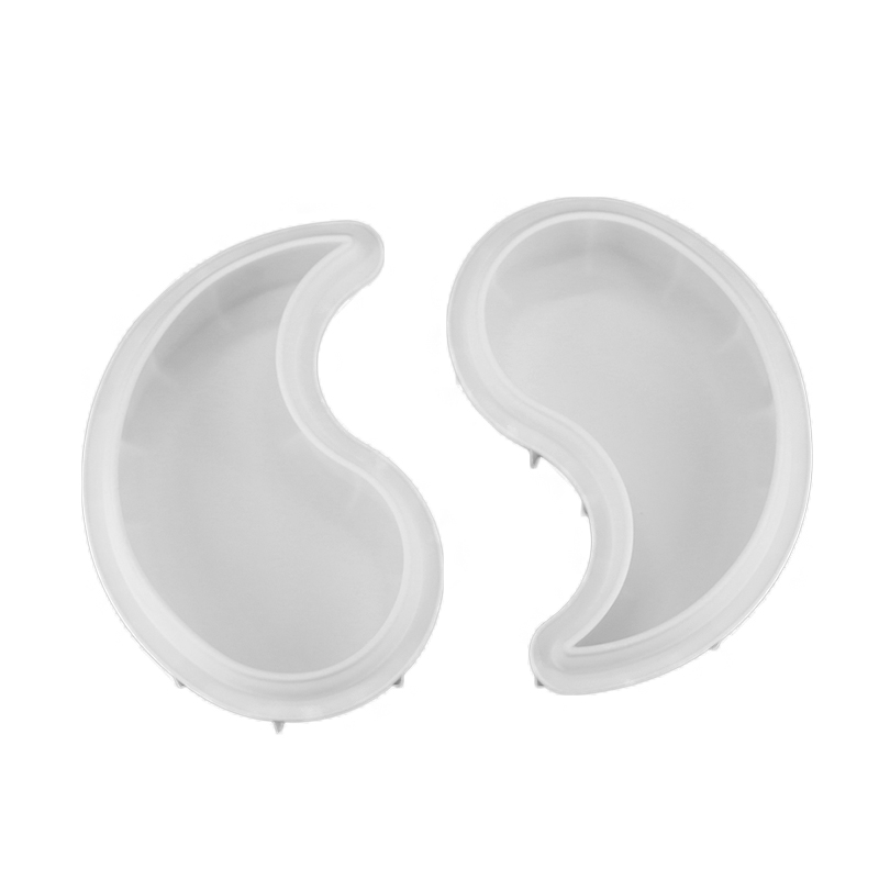Yin Yang Shape Silicone Cake Mold 1 Piece For Chocolate Brownie Dessert Mousse Baking Mold