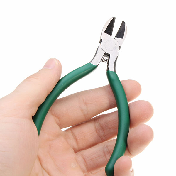 BERRYLION 5Inch 125mm Diagonal Pliers Wire Stripper Forceps Crimping Tool Durable Multifunctional Hand Tools