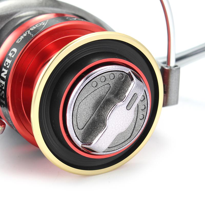 Bobing GIHSC 5.1:1 10+1BB Aluminum Alloy Spinning Spool Wheel Fishing Reel For Freshwater