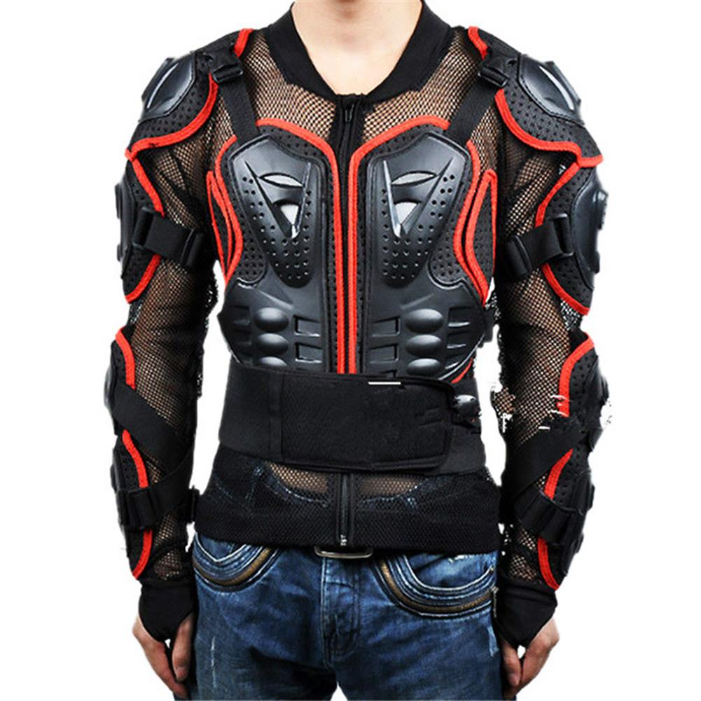 WOLFBIKE® Motorcycle Ride Protector Back Can Activities Off-arm Armor Wear Anti-Wrestling Racing