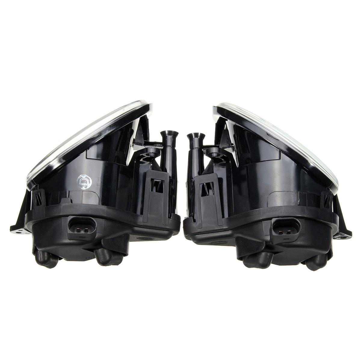 Pair Front(R&L) Bumper Halogen Clean Fog Lights Lamps For Audi Q7/A3 8P0941699A