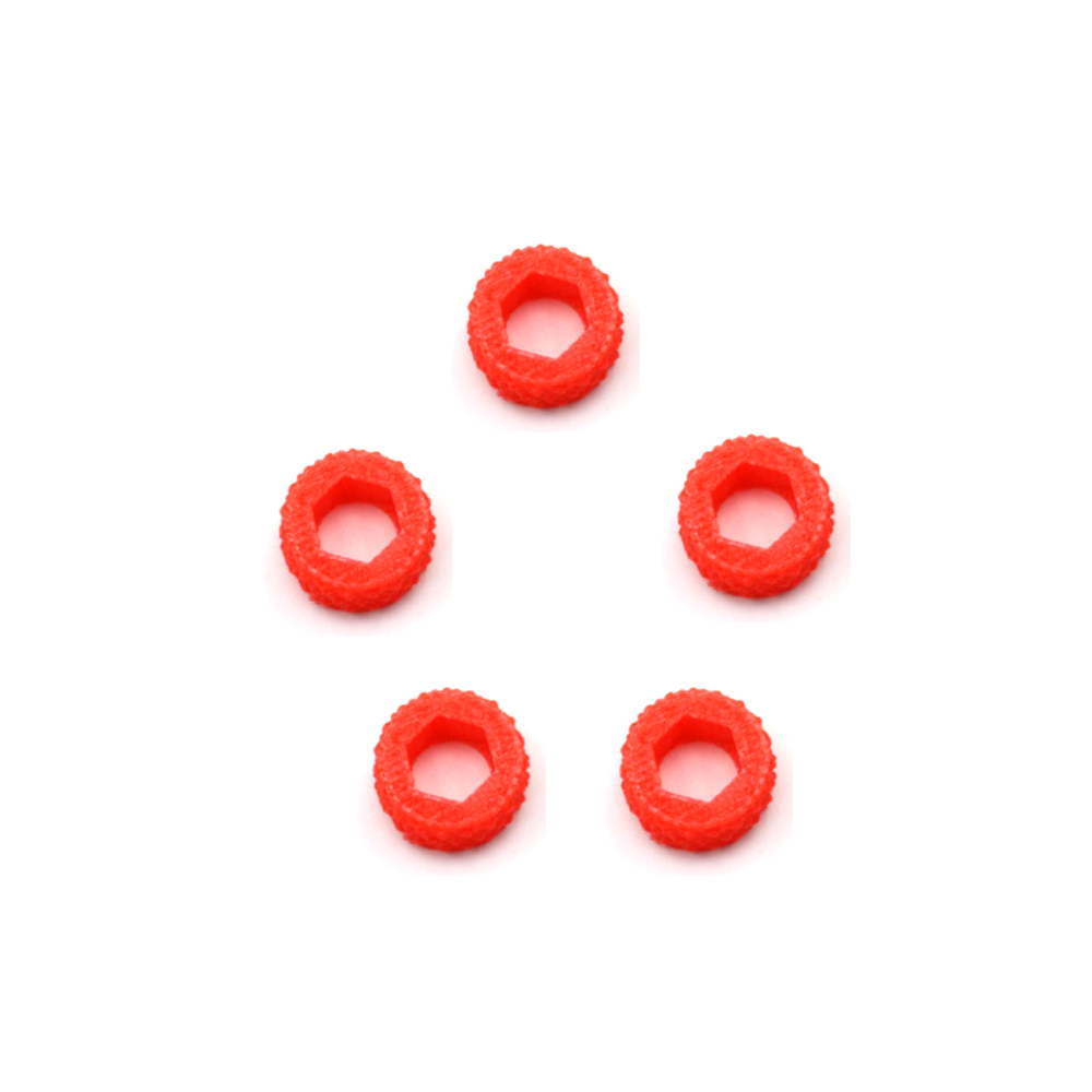 LANTIANRC 5pcs Mini SMA Antenna Anti Skid Wrench Tightening Nut Ring For FPV RC Drone Foxeer Lollipop