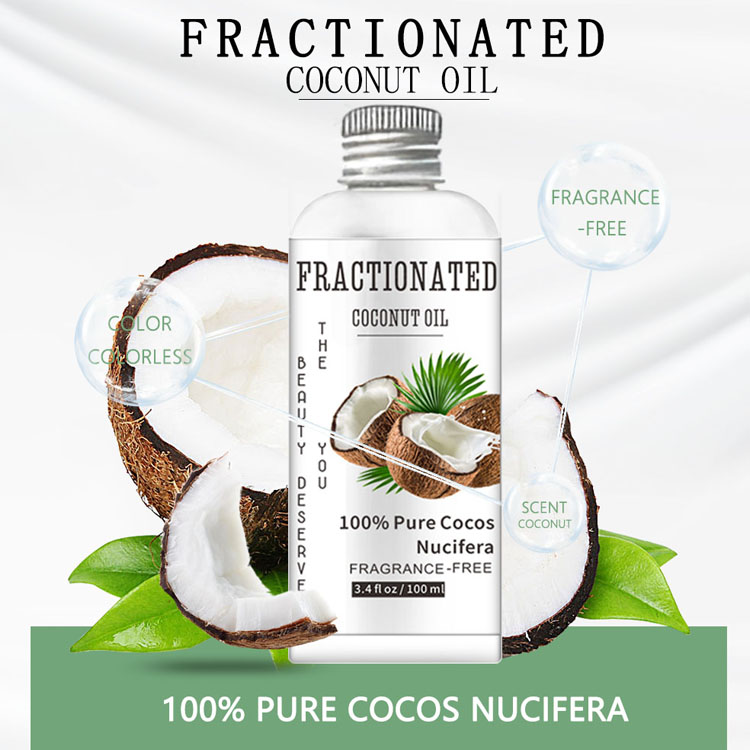 100ml Coconut Oil Soften and Repair Dry Cracked Skin