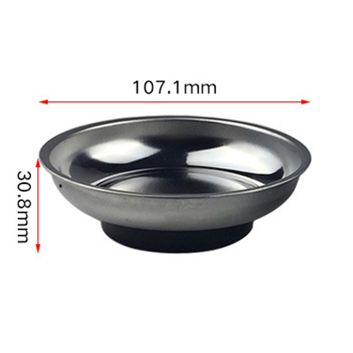 4inch Magnetic Stainless Steel Parts Bowl Tray Dish Machine Repair Storage Tool