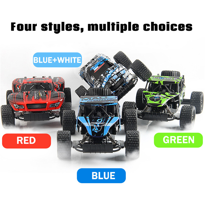 1:20 2.4Ghz 4WD Radio High Speed RC Racing Car Rock Crawler Off-Road Truck Climbling Vehicle Toys