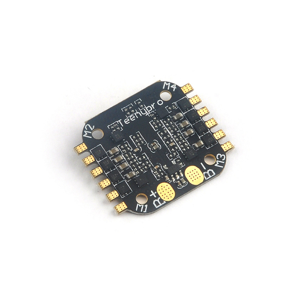 16x16mm Teenypro 5A BLheli_S 4in1 1-2S Brushless ESC Support Dshot600 for FPV RC Drone - Photo: 4