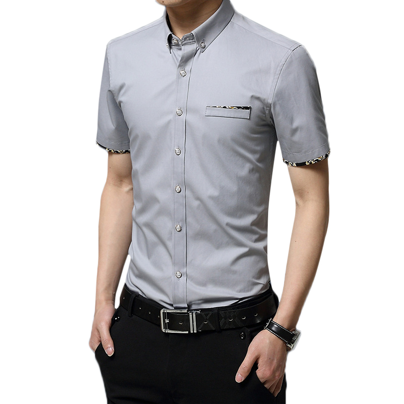 Casual Business Slim Fit Stylish Button down Designer Shirts