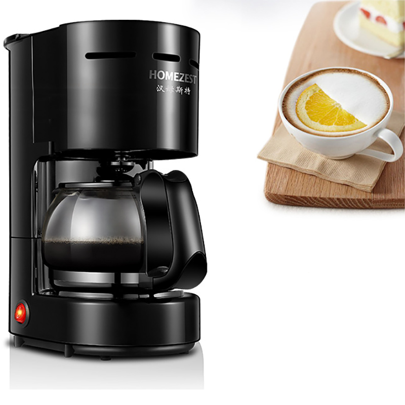 HOMEZEST CM-306 600W 0.65L Indoor Kitchen Household Automatic Electric Drip Coffee Machine Maker