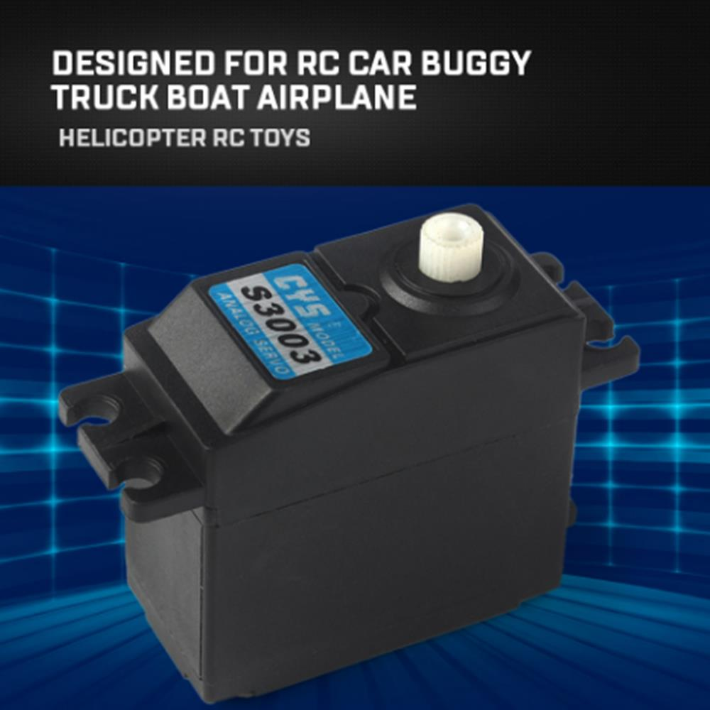 CYS-S3003 3KG Tiny Analog Servo for RC Car Buggy Truck Boat Airplane Helicopter RC Toys Part