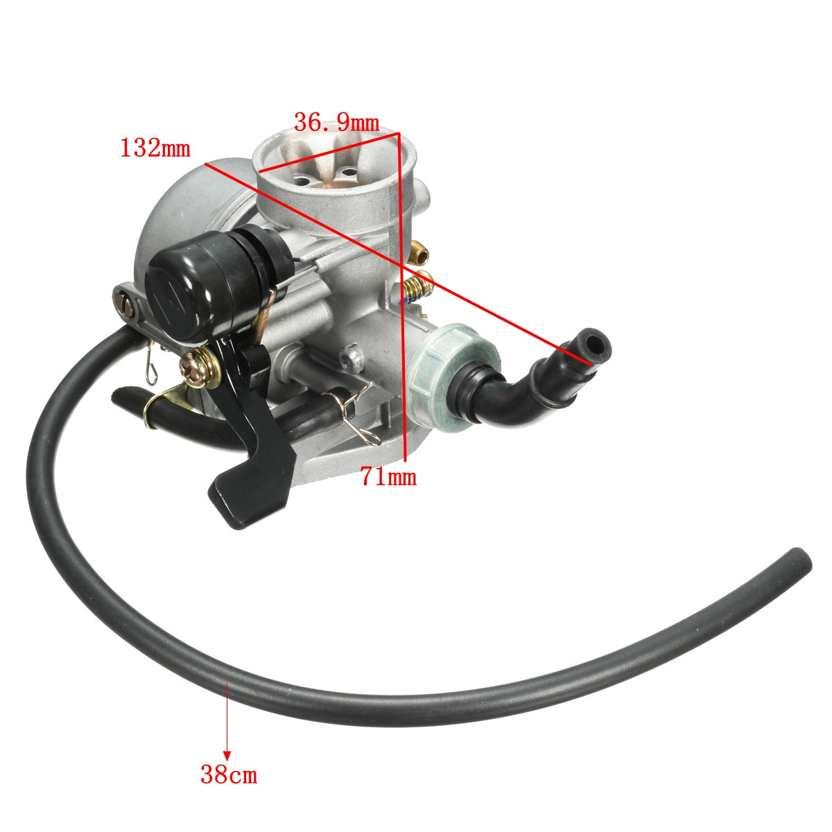 Carb Carburetor with Air Filter For Honda CRF50F CRF70F Dirt Pit Bike 2008-2012