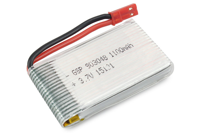 jjrc h11d h11c rc quadcopter spare parts 3.7v 1100ma battery h11d-013