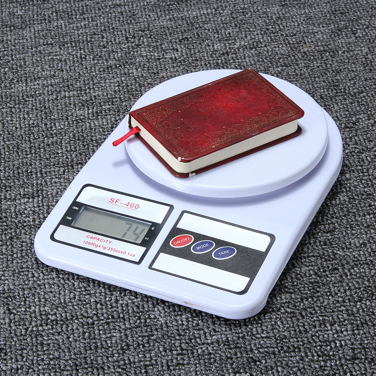 10kg/1g Digital Electronic Postal Scale Postage Parcel Weighing Weight Scale
