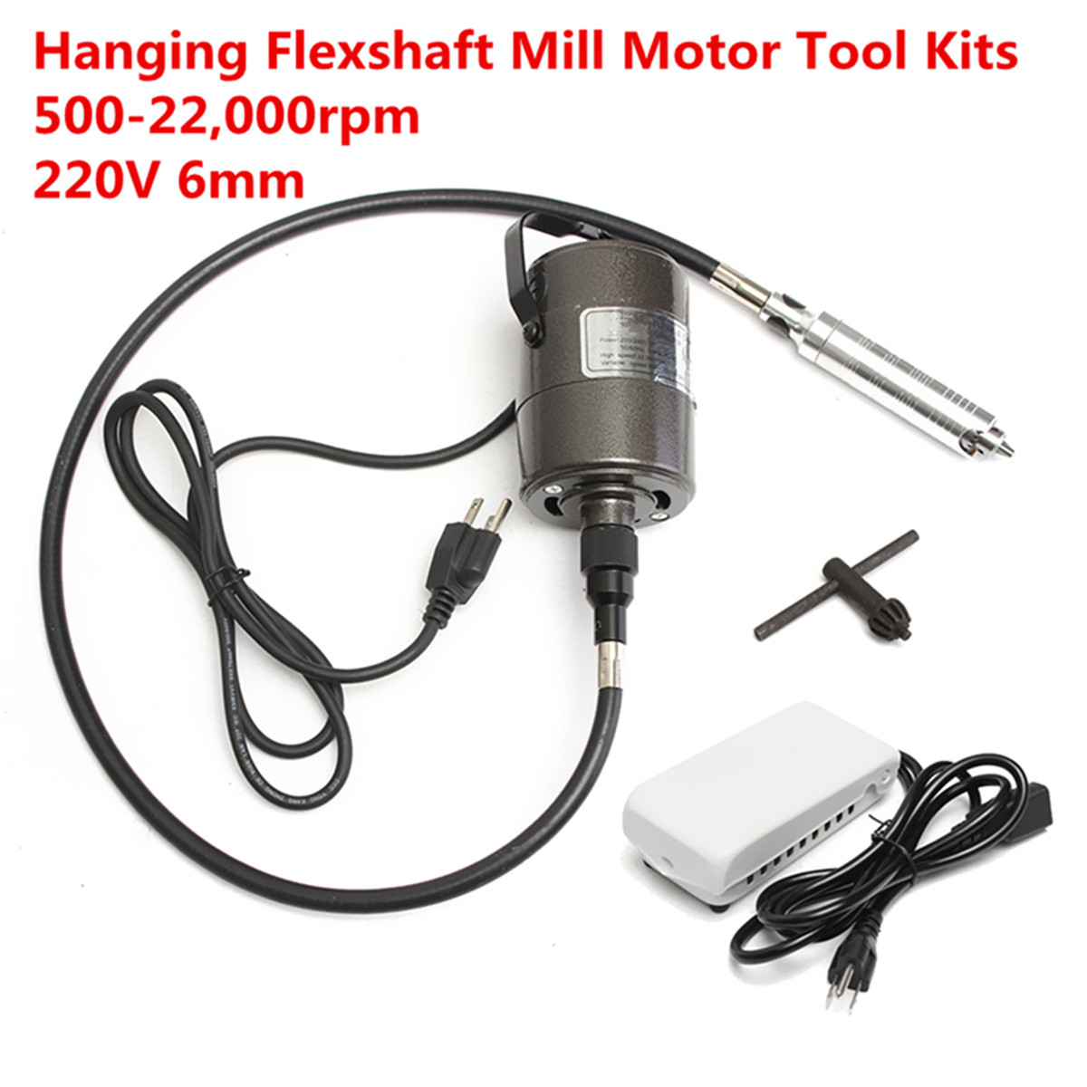 220V 6mm Hanging Grinder Metal Jewelry Engraving Grinding Repair Tool