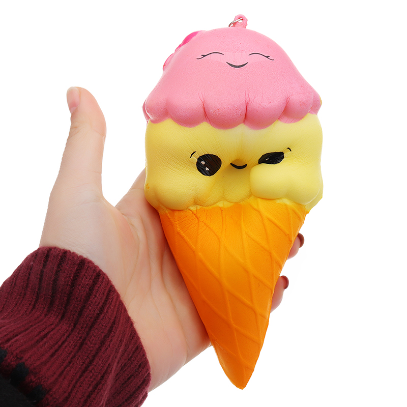 Ice Cream Squishy Soft Toy 12x7cm Slow Rising With Packaging Collection Gift