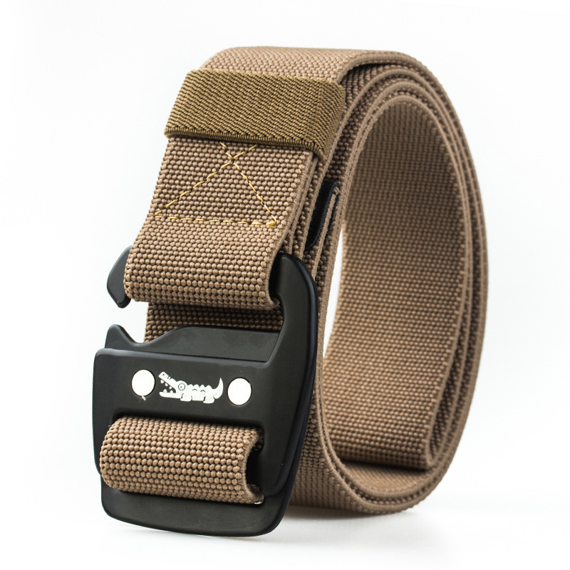 125CM Braided Elastic Weave Nylon Military Belts