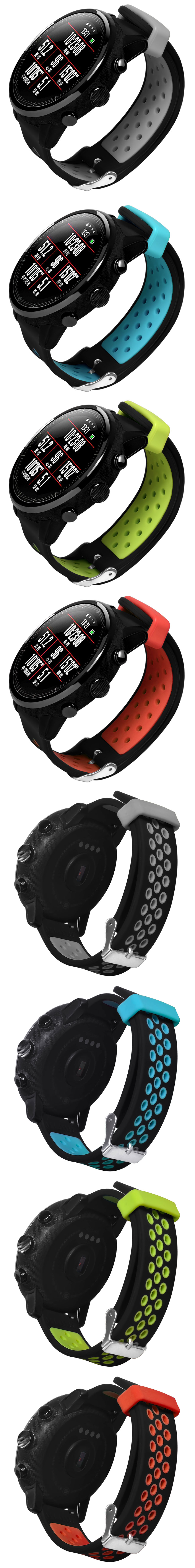 22mm Silicone Watch Band for Amazfit 2S 22mm Smart Watch