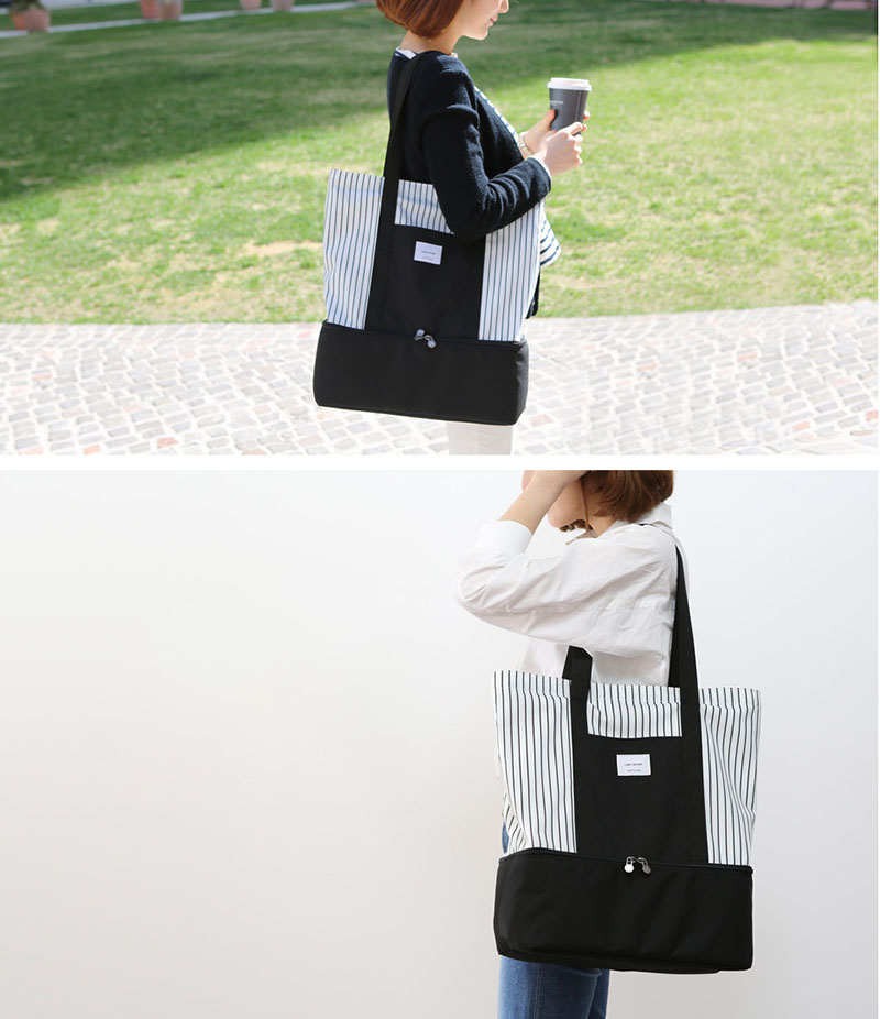 Fashion Nylon Thermal Lunch Bags for Women Insulated Cooler Box Tote Men Kids Adults Portable Picnic Storage Container