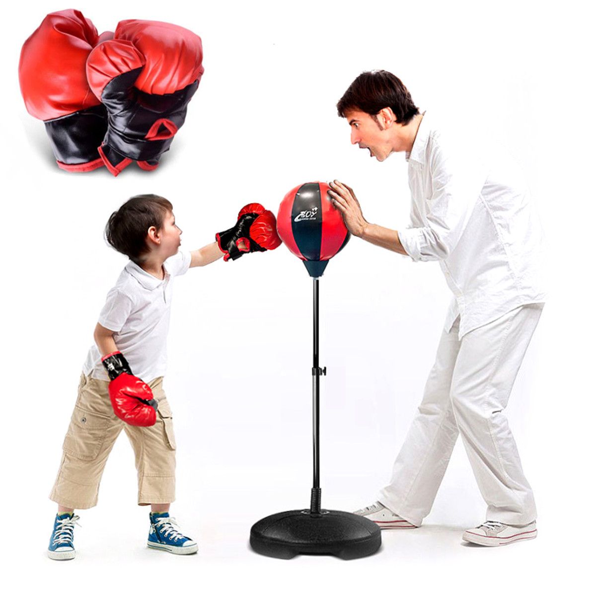 Desk Boxing Sand Bag Boxing Speed Ball Training Stress