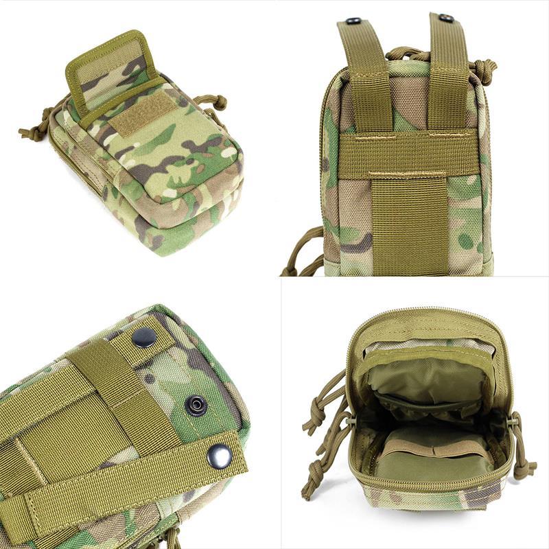 FEDE PRO Camouflage Cellulare Molle EDC Tactical Belt Bag pacchetto impermeabile di accessori bagagli Pouch