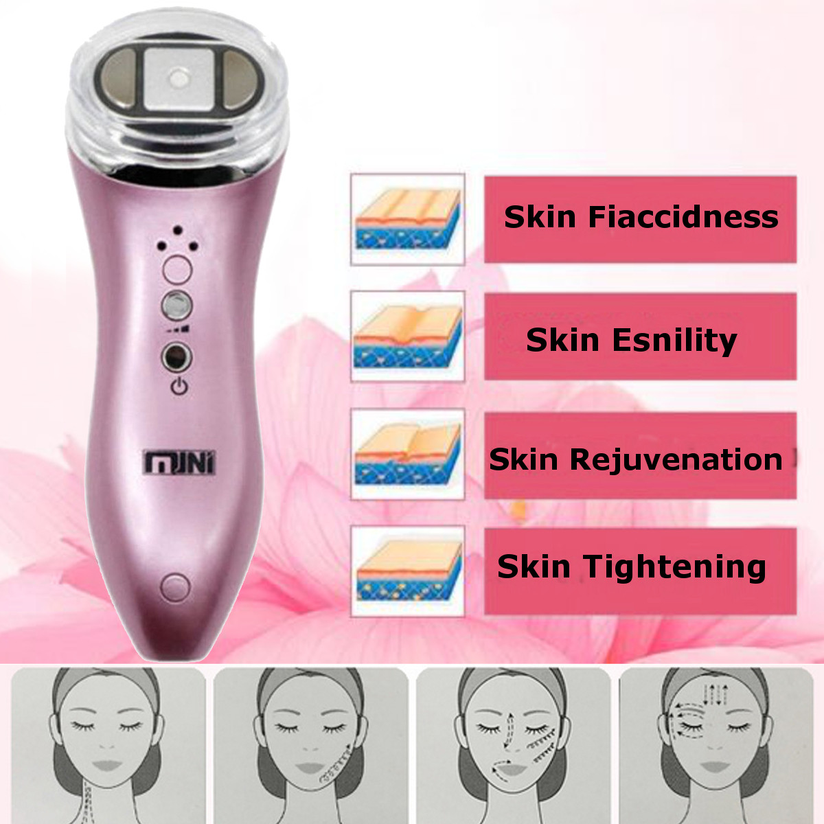 LuckyFine Mini HIFU Facial Machine