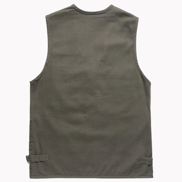Outdooors Functional Tactical Photography Fishing Multi Pocket Spring Autumn Sleeveless Vest