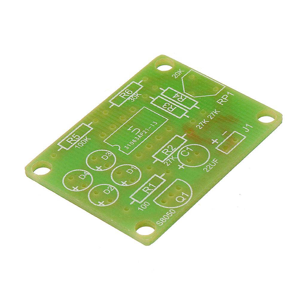 LM358 Breathing Light Parts Electronic DIY Blue LED Flash Lamp Electronic Production Kit
