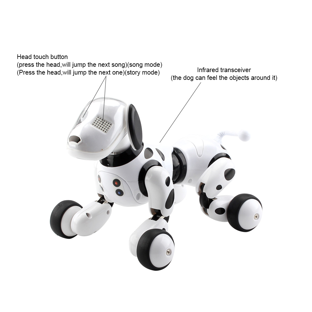 MoFun Smart RC Robot Dog Programmable Touch Control Sing Dance Pee Tell Story Robot Toy