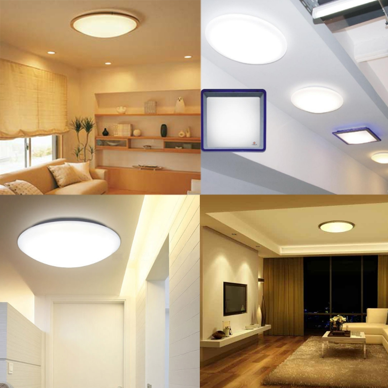 33W 5730 SMD LED Double Panel Circles Annular Ceiling Light Fixtures Board Lamp