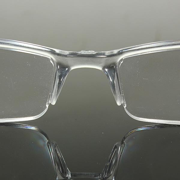 Yellow Spot Half Rimless Presbyopic Fatigue Relieve Reading Glasses Strength 1.0 1.5 2.0 2.5 3.0 3.5 4.0