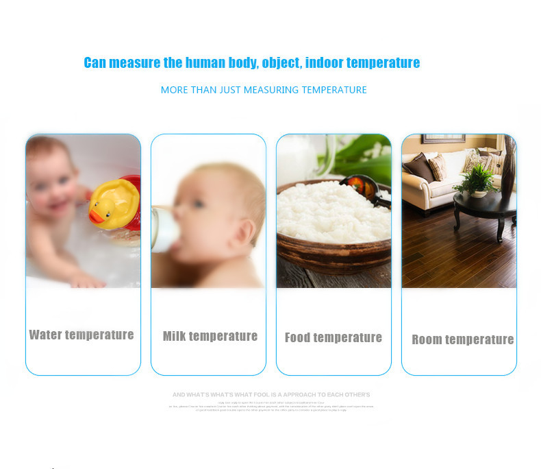 FI04 Babies Adult Non Contact Infrared Digital Clinical Thermometer Temperature Tester