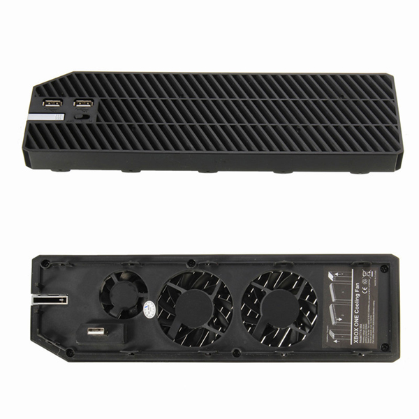 Cooling Cooler Fan Exhauster Intercooler for Microsoft Xbox One with Dual USB
