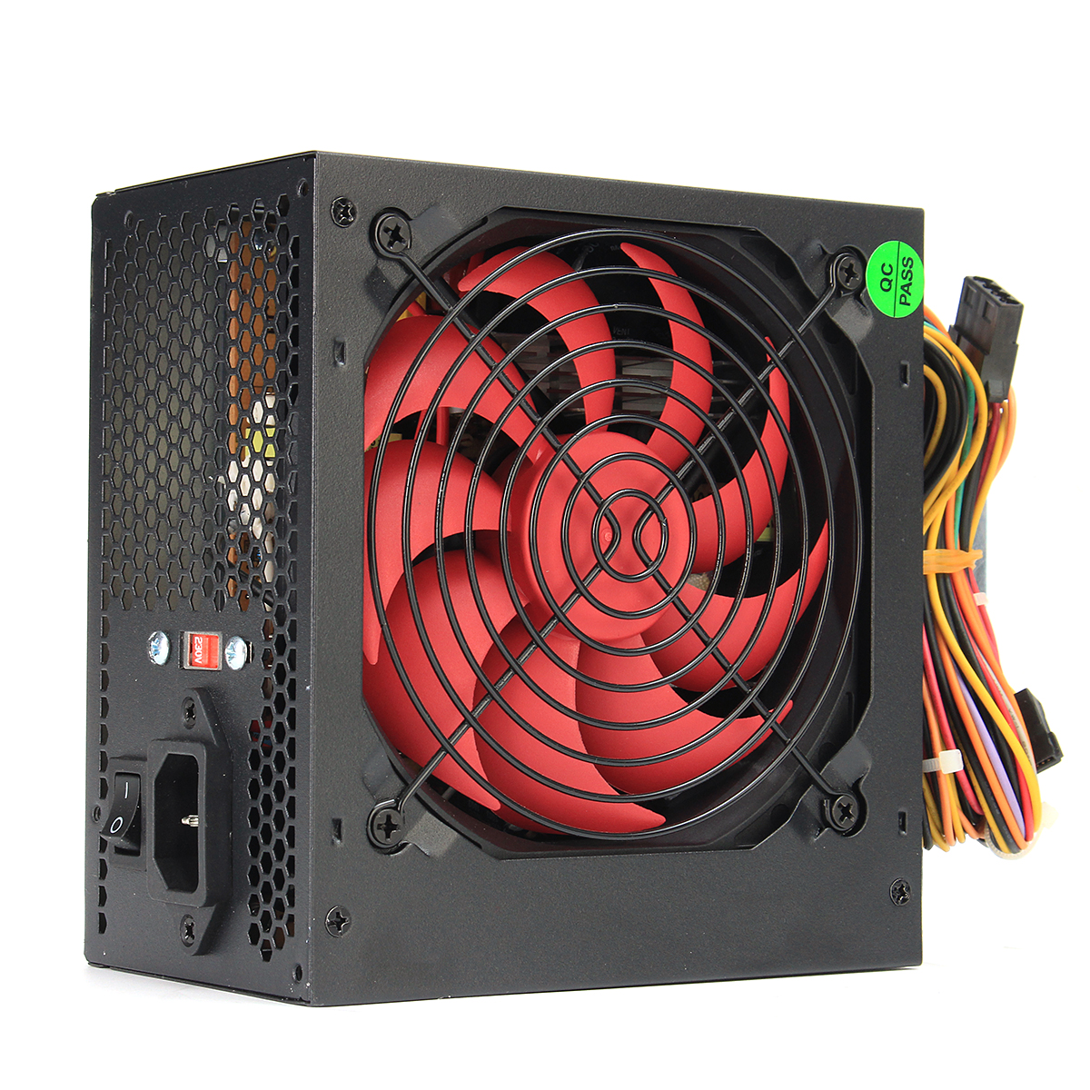 110V-230V 12cm Fan ATX Power Supply Fan 24 Pin PCI SATA ATX 12V Molex Connect 80+ Gold