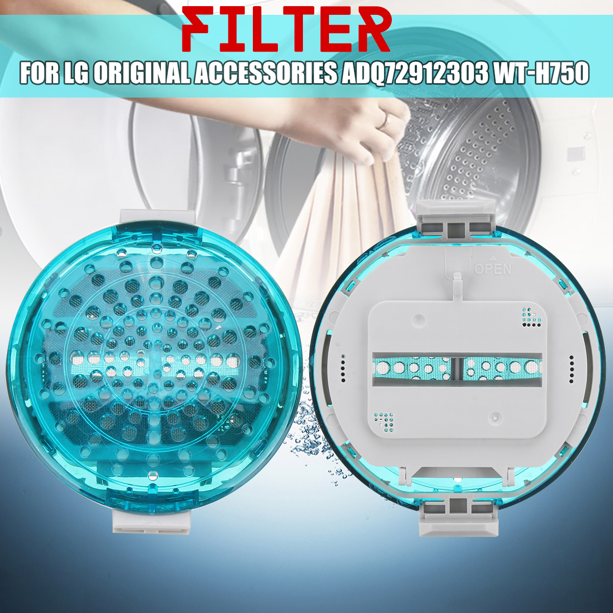 Washer Magic Filter Washing Machine Lint Filter For LG Accessories ADQ72912303 WT-H750