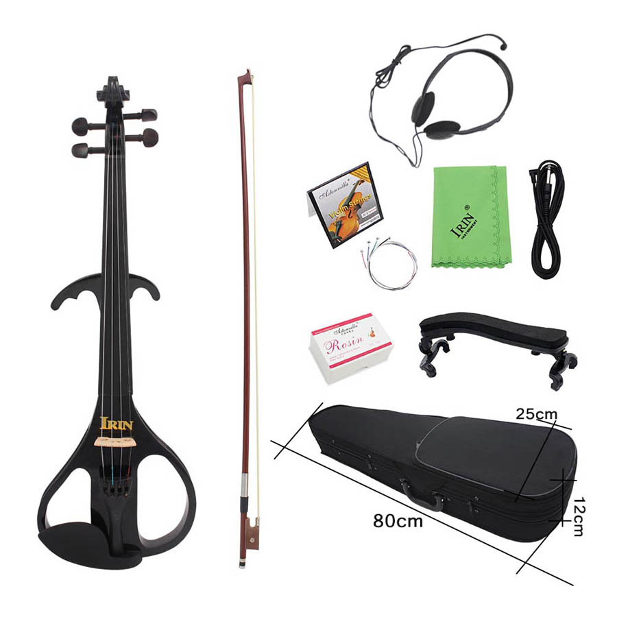 IRIN AU-02 4/4 Maple Electric Violin with Pickup Case&Accessories