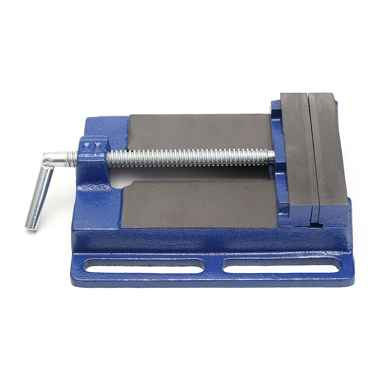 6Inch Drill Press Vise Pipe Clamping Holding 5-1/2 Throat Open Workbench Drill HD