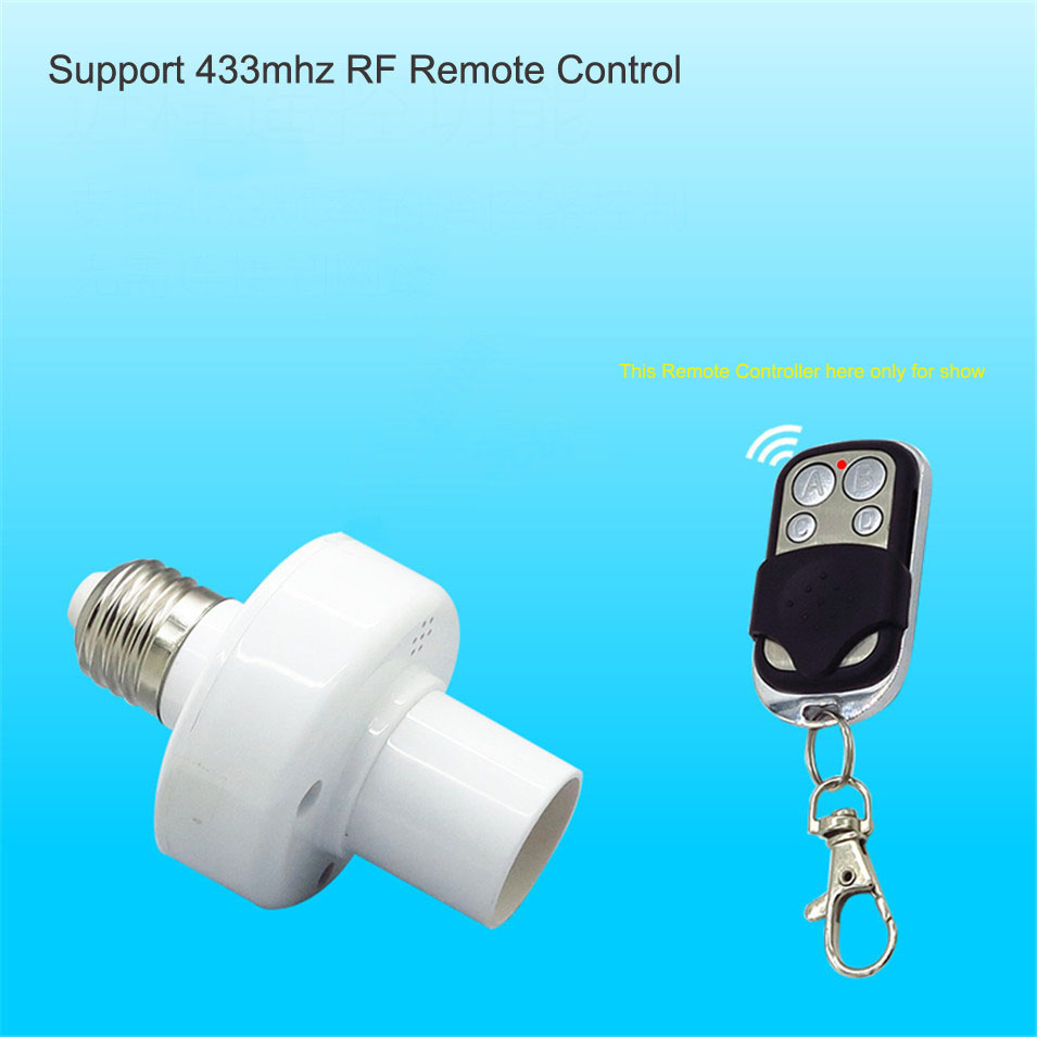SONOFF® E27 LED Wifi Light Bulb Smart APP Holder Base Socket Remote Control By IOS Android AC100-250V